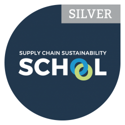 Logical have a Silver Level Membership with the Supply Chain Sustainability School